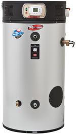 Bradford White Direct Vent Energy Saving Water Heater Installed by Texas Master Plumber