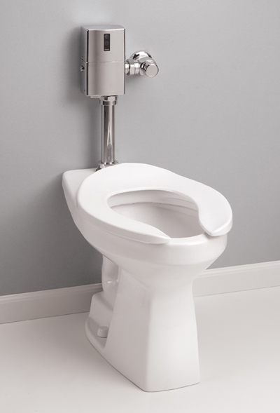 Commercial Toilets : Toto Toilets Commercial Flushometer HET 1.28 GPF - ADA with SanaGloss
