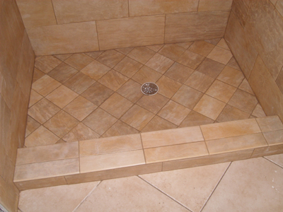 Houston Plumber Installs Shower Pans