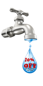 10% Off Installation of Faucets & Sinks